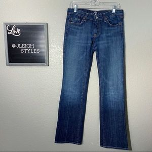 7FAM Medium Wash Bootcut Jeans 29
